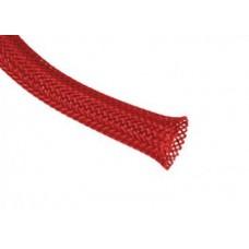 Защитная кабельная оплетка D10mm, L=100m/Red