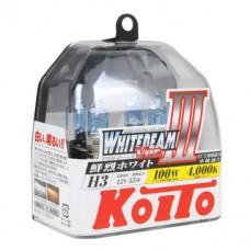 Лампа Koito H3 whitebeam (2 шт в пластике, P0752W)