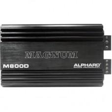 Усилитель 1- канальный Alphard Machete M800D